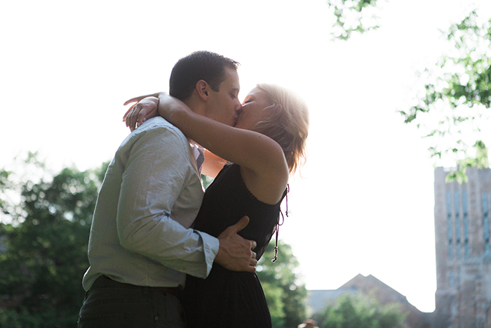 Romantic Yale Engagement Shoot Downtown New Haven CT - Brigham & Co. - Best New England Fine Art Wedding Photographers - NY Wedding Photographer - CT Wedding Photographer - Jessica Brigham