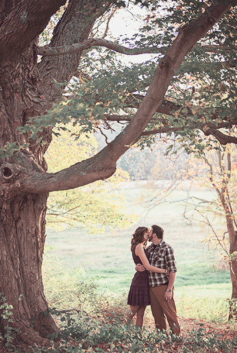 Fine Art Wedding Photographer - Brigham & Co - Fall Engagement Ideas CT - Best CT Wedding Photographers